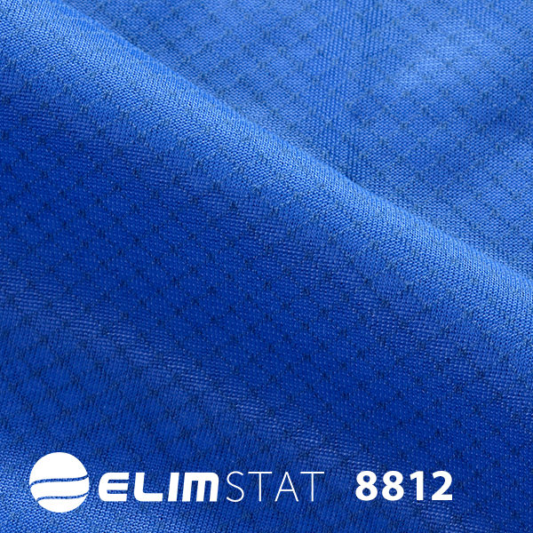 Sewn with black carbon threading to give it static shielding properties 8812 series fabric is affordable and unconstricted.