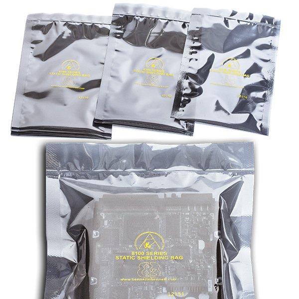 Ziplock Static Shielding Bags by Bennett & Bennett